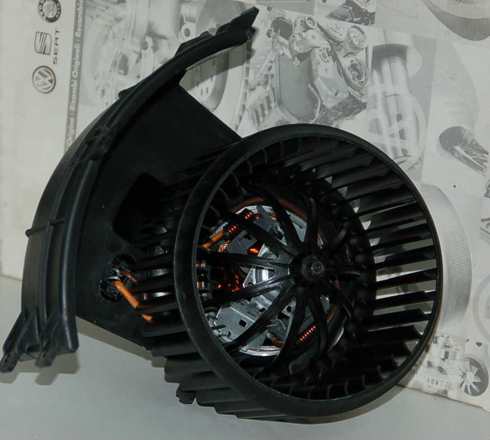 Мотор печки Т5